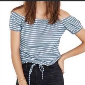 Madewell Melody Off Shoulder Shirt Size:XL